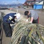 20120312竹のゲートの片付け
