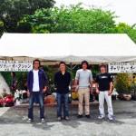 久留米ツツジ祭りチャリティー活動 参加者